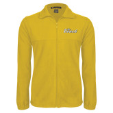 Fleece Full Zip Gold Jacket-The Beach