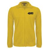 Fleece Full Zip Gold Jacket-49ers Long Beach