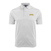 White Dry Mesh Polo-Arched Beach