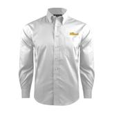 Red House White Dobby Long Sleeve Shirt-The Beach