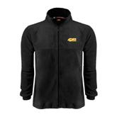 Fleece Full Zip Black Jacket-49ers Long Beach