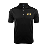 Black Dry Mesh Polo-Arched Beach