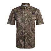 Camo Short Sleeve Performance Fishing Shirt-Interlocking LB