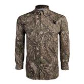 Camo Long Sleeve Performance Fishing Shirt-Interlocking LB
