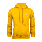 Gold Fleece Hoodie-Interlocking LB