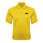Gold Textured Saddle Shoulder Polo-49ers Long Beach