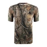 Realtree Camo T Shirt w/Pocket-Interlocking LB