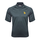 Charcoal Dri Mesh Pro Polo-Interlocking LB
