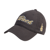 Charcoal Twill Unstructured Low Profile Hat-The Beach
