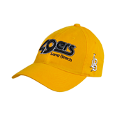 Gold Twill Unstructured Low Profile Hat-49ers Long Beach