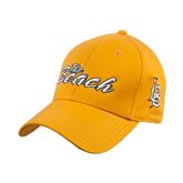 Gold Heavyweight Twill Pro Style Hat-The Beach