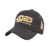 Charcoal Heavyweight Twill Pro Style Hat-49ers Long Beach