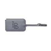 Fabrizio Grey Luggage Tag-Interlocking LB Engraved