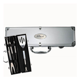 Grill Master 3pc BBQ Set-The Beach Engraved