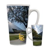Full Color Latte Mug 17oz-Long Beach State Gymnasium