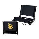 Stadium Chair Black-Interlocking LB