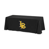 Black 6 foot Table Throw-Interlocking LB
