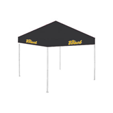9 ft x 9 ft Black Tent-The Beach
