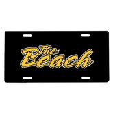 License Plate-The Beach
