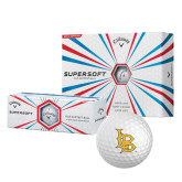 Callaway Supersoft Golf Balls 12/pkg-Interlocking LB