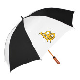 62 Inch Black/White Umbrella-Interlocking LB