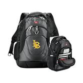 Wenger Swiss Army Tech Charcoal Compu Backpack-Interlocking LB