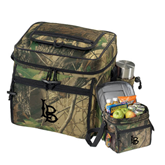 Big Buck Camo Sport Cooler-Interlocking LB