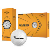 Callaway Warbird Golf Balls 12/pkg-Skunk Works Flat with Skunk