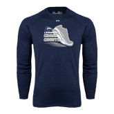 Under Armour Navy Long Sleeve Tech Tee-Cross Country Shoe Design