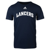 Adidas Navy Logo T Shirt-Arched Lancers