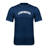Performance Navy Tee-Arched Longwood