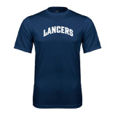 Performance Navy Tee-Arched Lancers