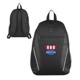 Atlas Black Computer Backpack-US Vice Presidental Debate 2016