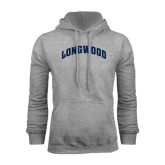 Grey Fleece Hoodie-Arched Longwood