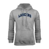 Grey Fleece Hoodie-Arched Lancers