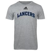 Adidas Sport Grey Logo T Shirt-Arched Lancers