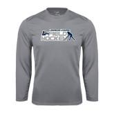 Performance Steel Longsleeve Shirt-Field Hockey w/ Player Design