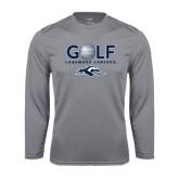 Performance Steel Longsleeve Shirt-Golf w/ Golf Ball Design