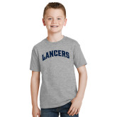 Youth Grey T-Shirt-Arched Lancers