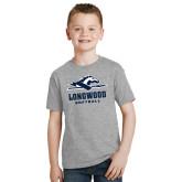 Youth Grey T-Shirt-Softball