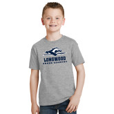 Youth Grey T-Shirt-Cross Country