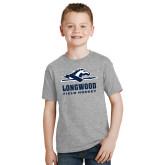 Youth Grey T-Shirt-Field Hockey
