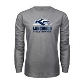 Grey Long Sleeve T-Shirt-Field Hockey