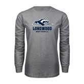 Grey Long Sleeve T-Shirt-Softball