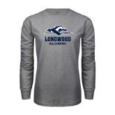Grey Long Sleeve T-Shirt-Alumni