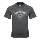 Under Armour Carbon Heather Tech Tee-Arched Basketball Design
