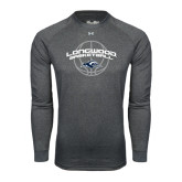 Under Armour Carbon Heather Long Sleeve Tech Tee-Arched Basketball Design