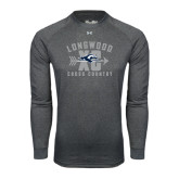 Under Armour Carbon Heather Long Sleeve Tech Tee-Cross Country Design