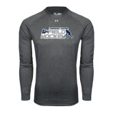 Under Armour Carbon Heather Long Sleeve Tech Tee-Field Hockey w/ Player Design