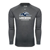Under Armour Carbon Heather Long Sleeve Tech Tee-Lacrosse
